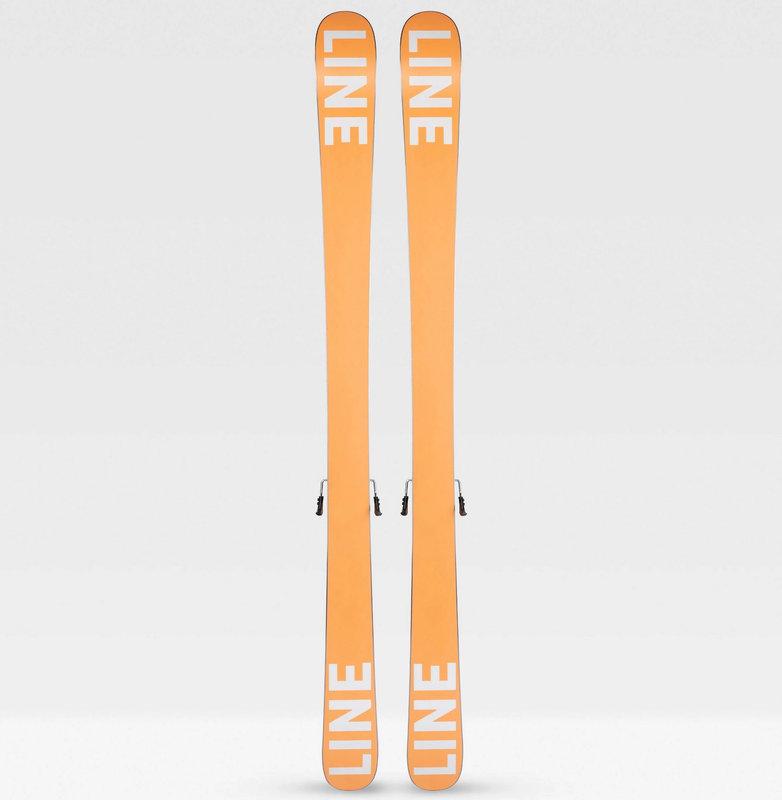 Line Tom Wallisch Shorty Ski With Bindings 7.0