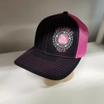 Richardson Hat - ZD30 - Blk/Pink - Snapback