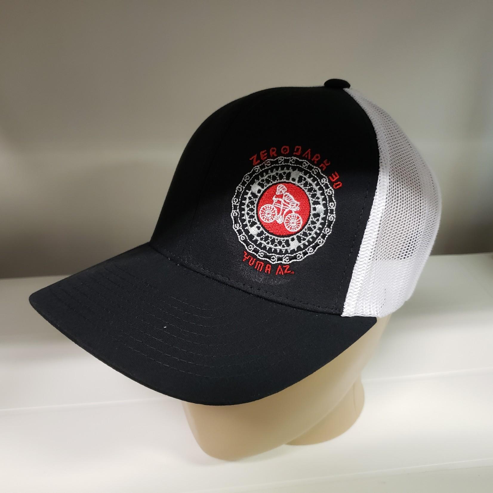 Richardson Hat - ZD30 - Blk/White - Snapback