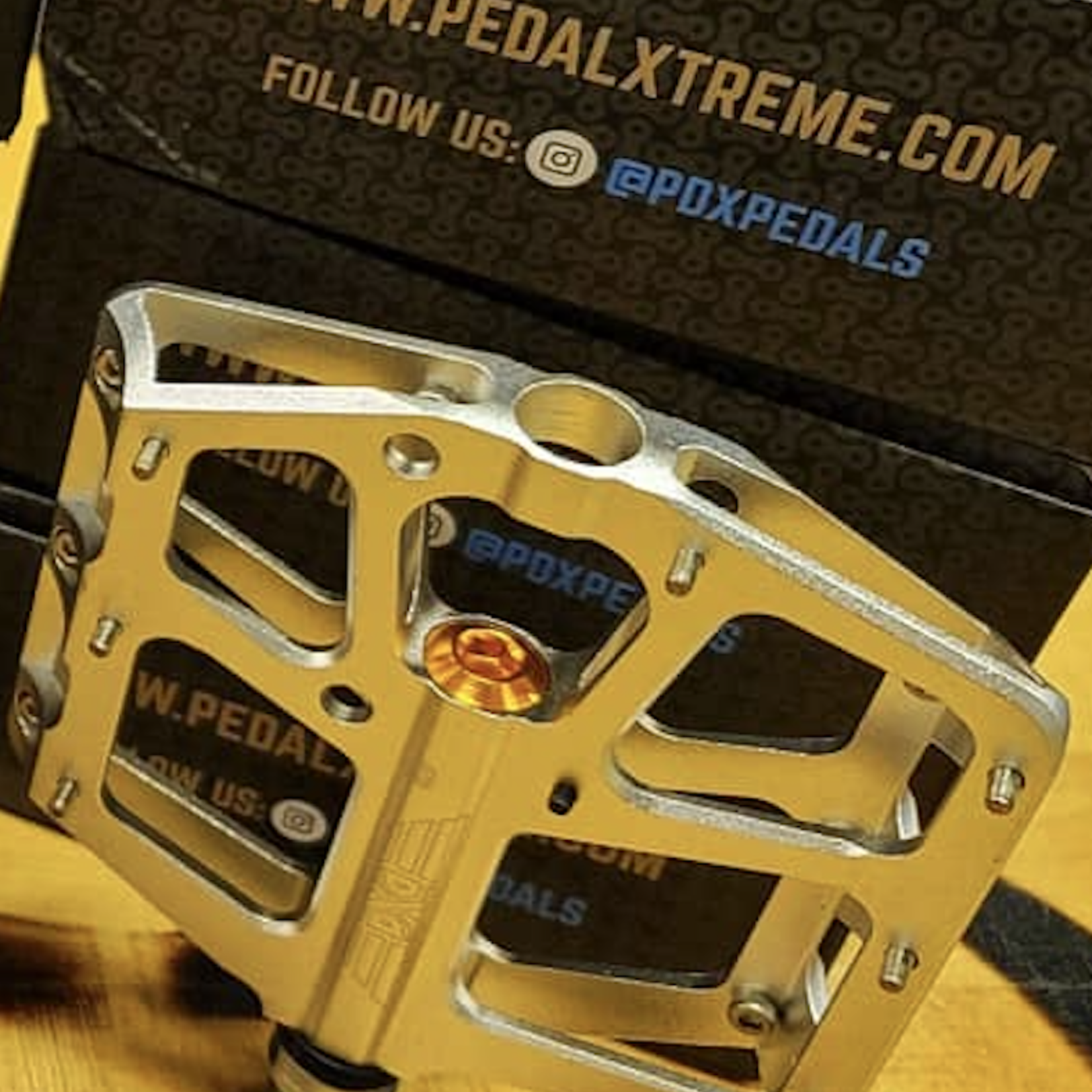 Pedal Extreme Pedals - Pedal Extreme - Silver