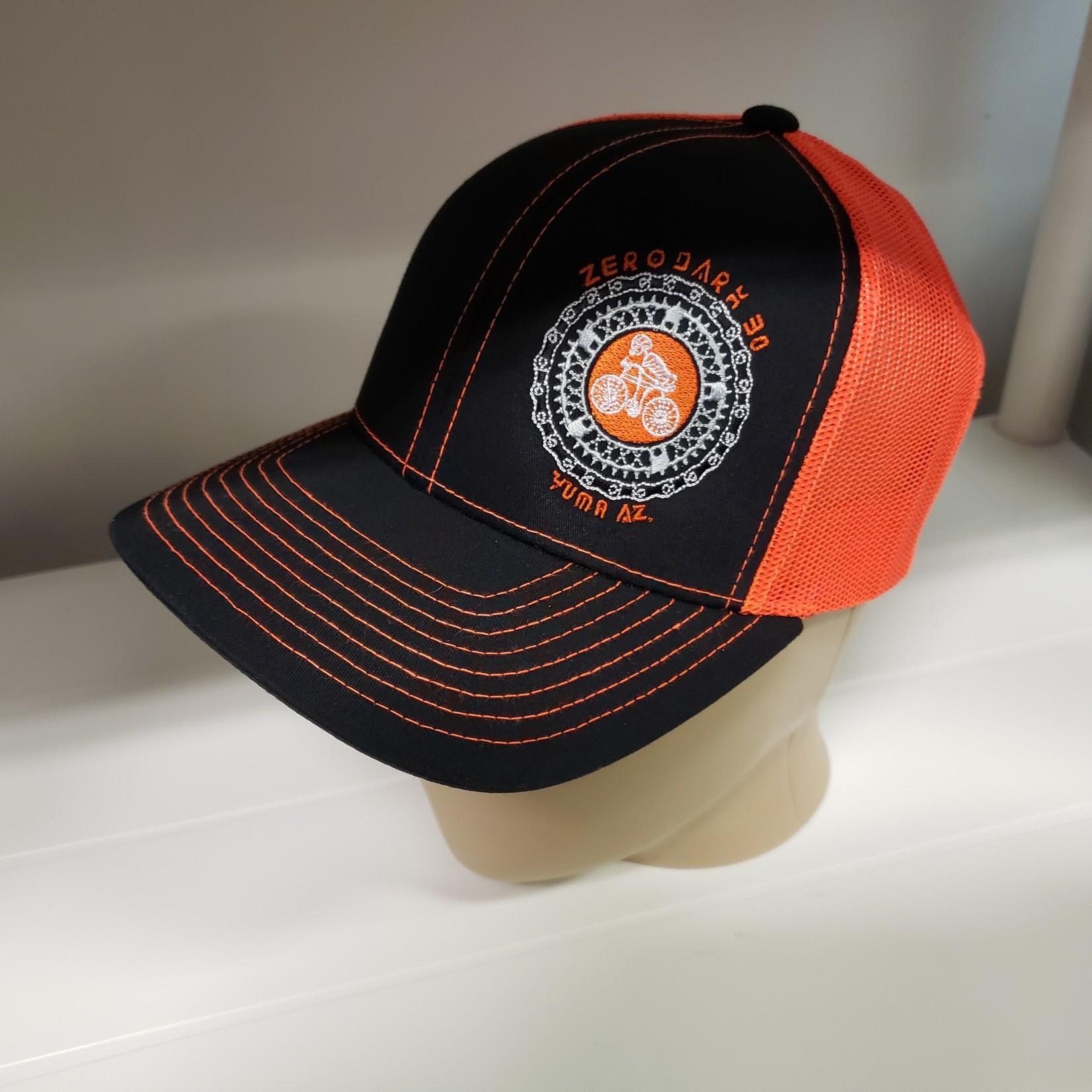 Richardson Hat - ZD30 - Orange/Blk - Snapback