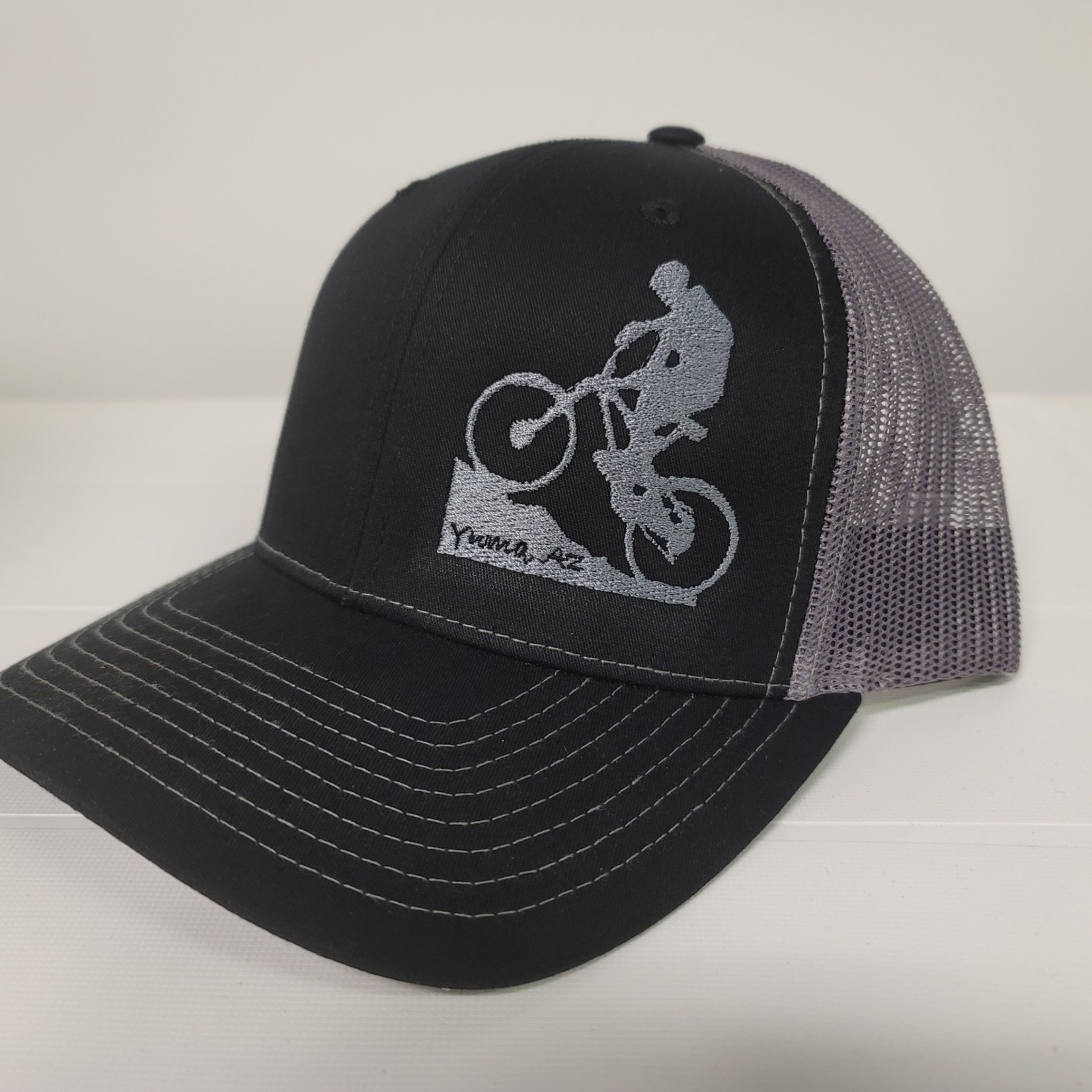 Richardson Hat - MTB - Blk/Grey - Snapback