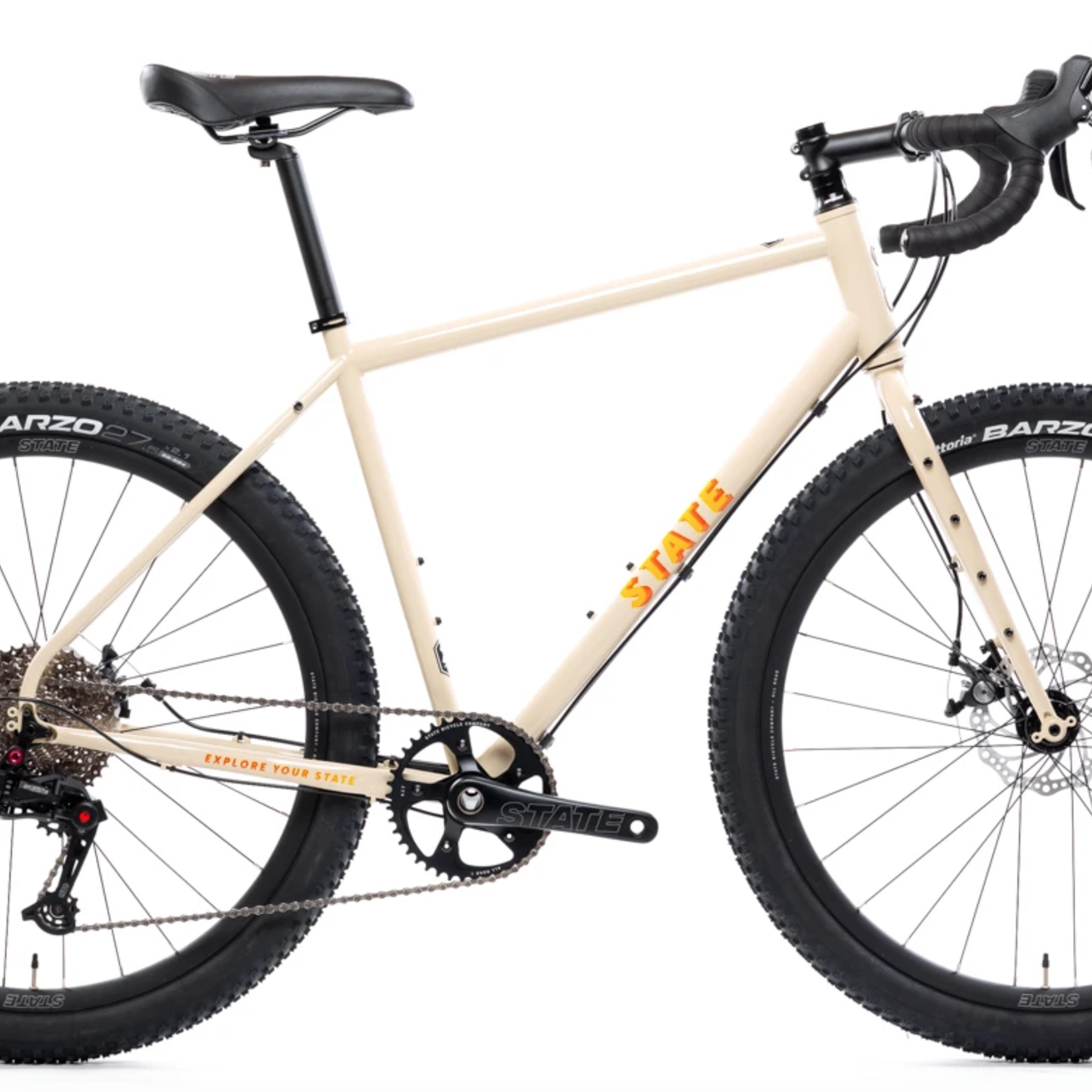 State Bicycles State Bike - 4130 All Road/Gravel - 51cm