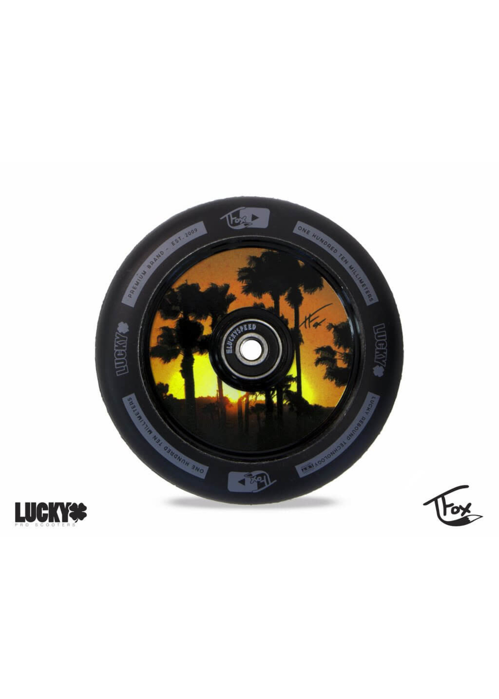 Lucky Lucky - Lunar Wheels - Tanner Fox sig.
