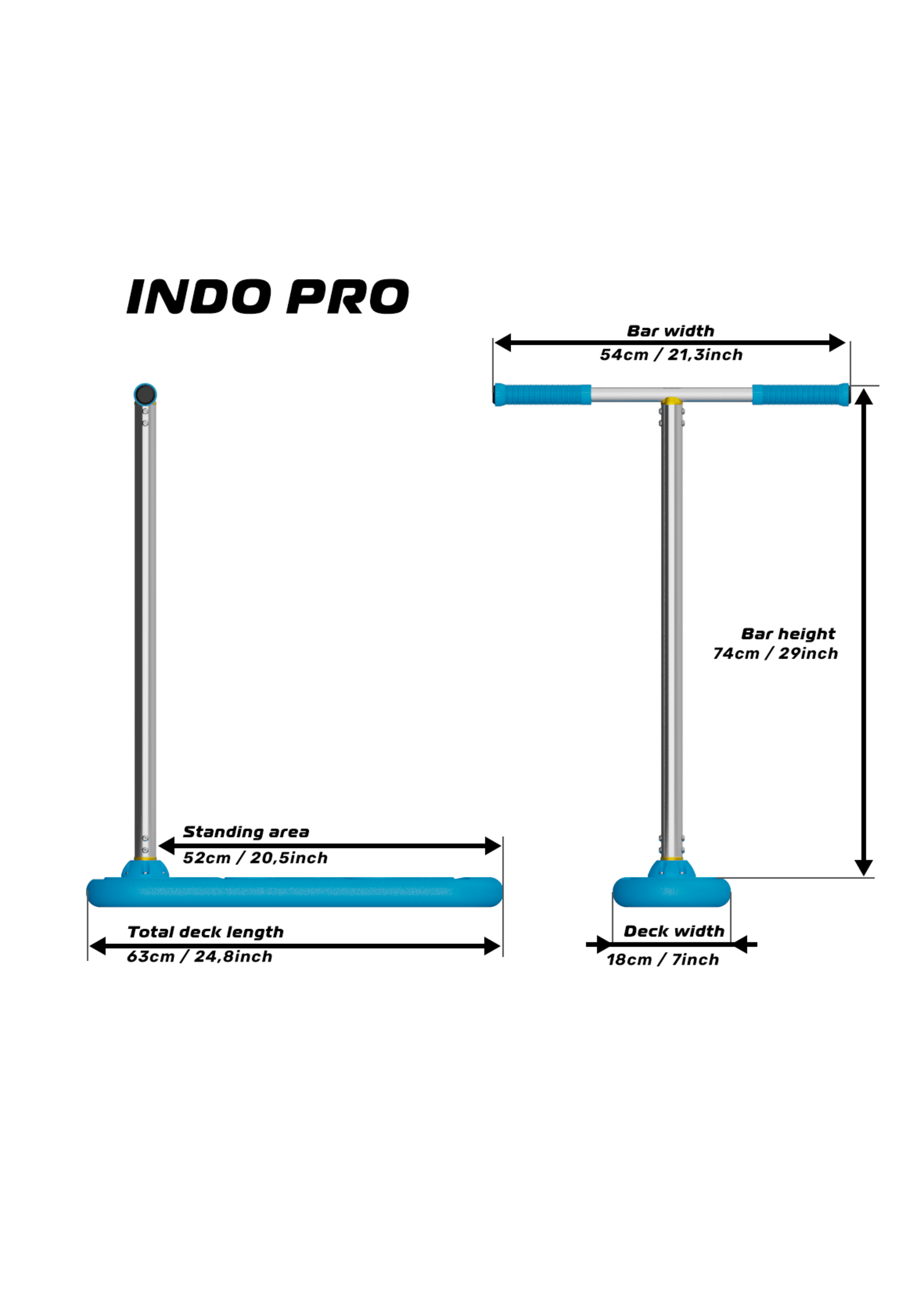 Indo Indo - Trampoline Scooter - Pro