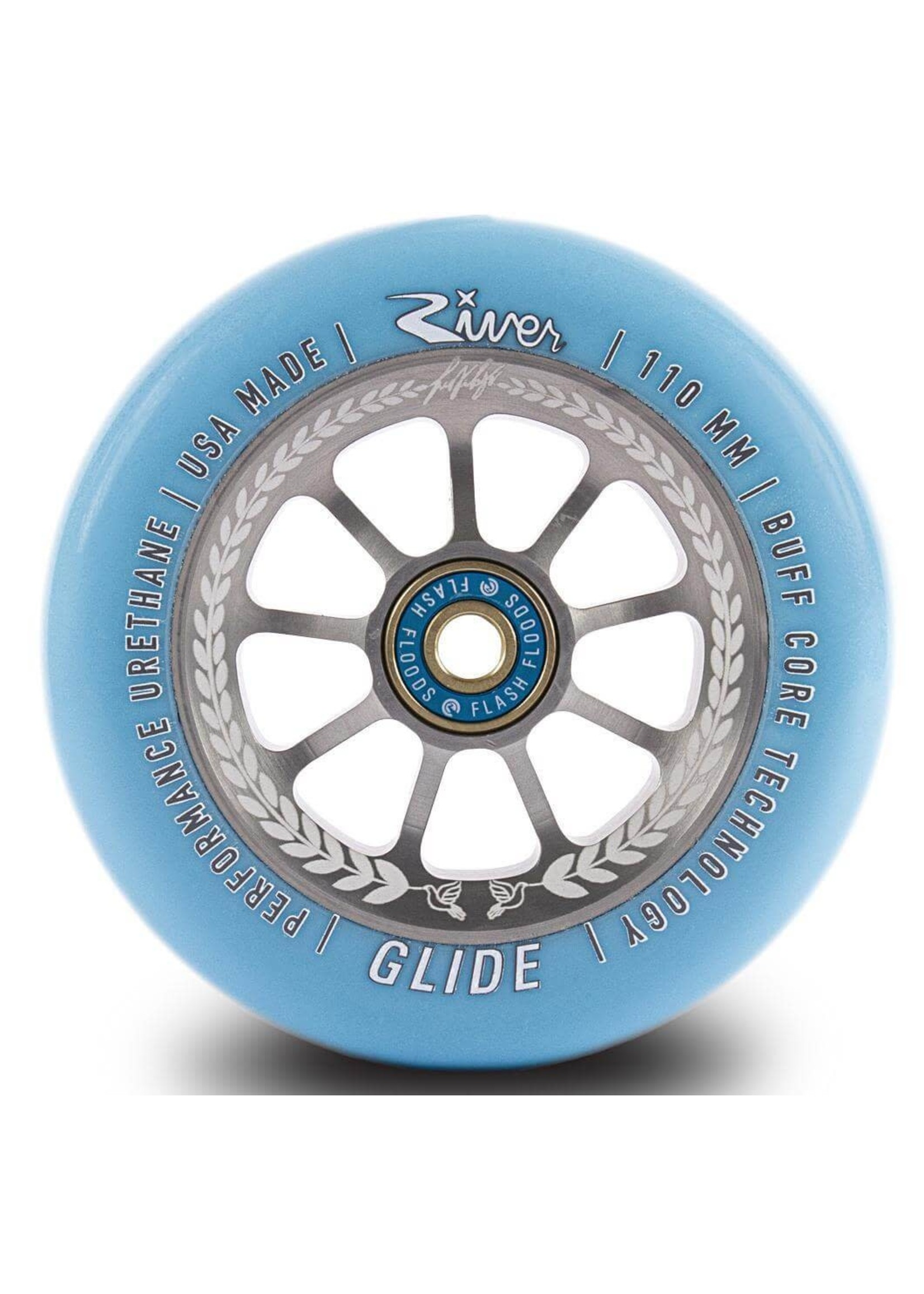 River Wheel Co. River - Glide Wheels Juzzy Carter Sig. - 110mm