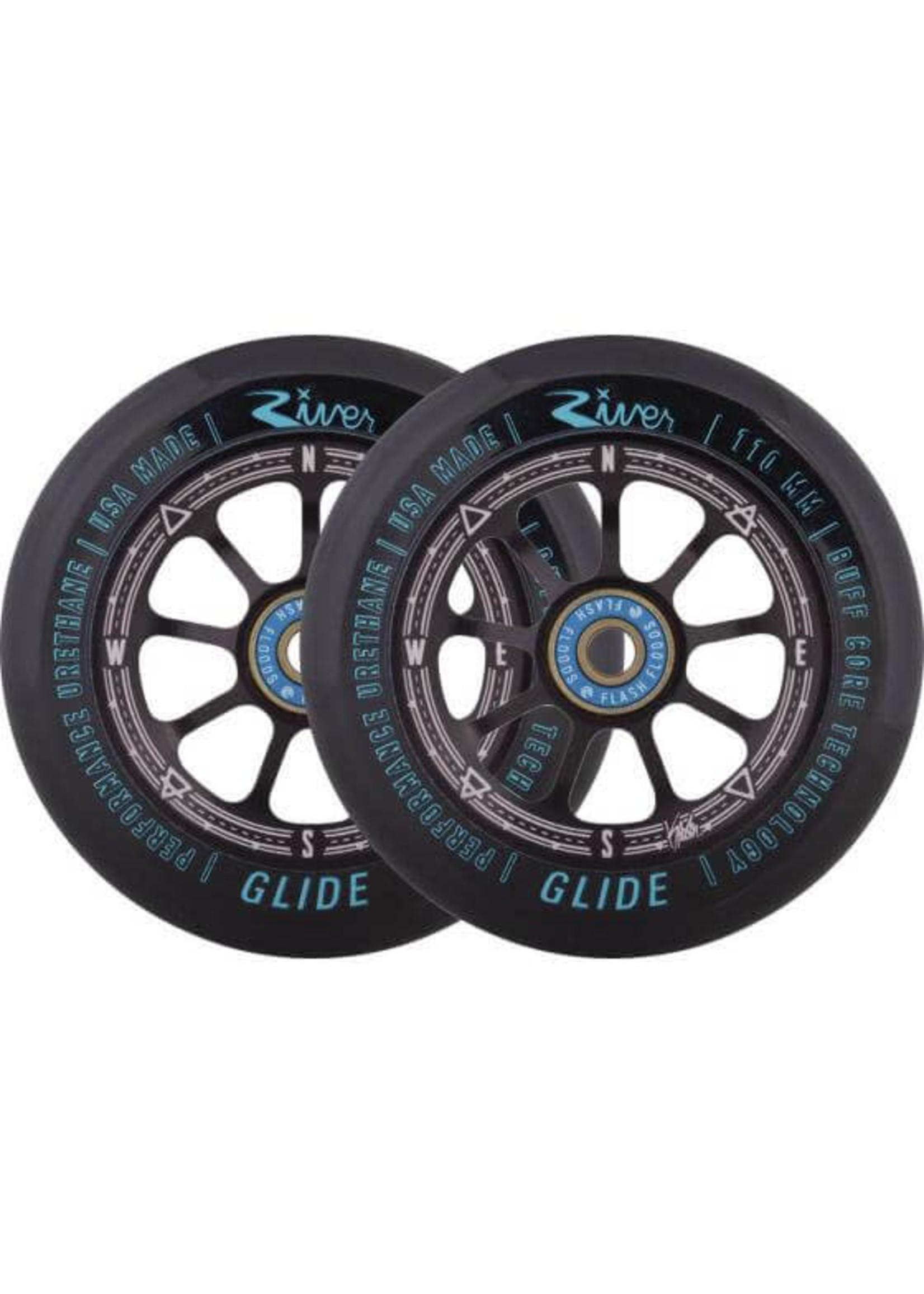 River Wheel Co. River - Glide Wheels Kevin Austin Sig. - 110mm