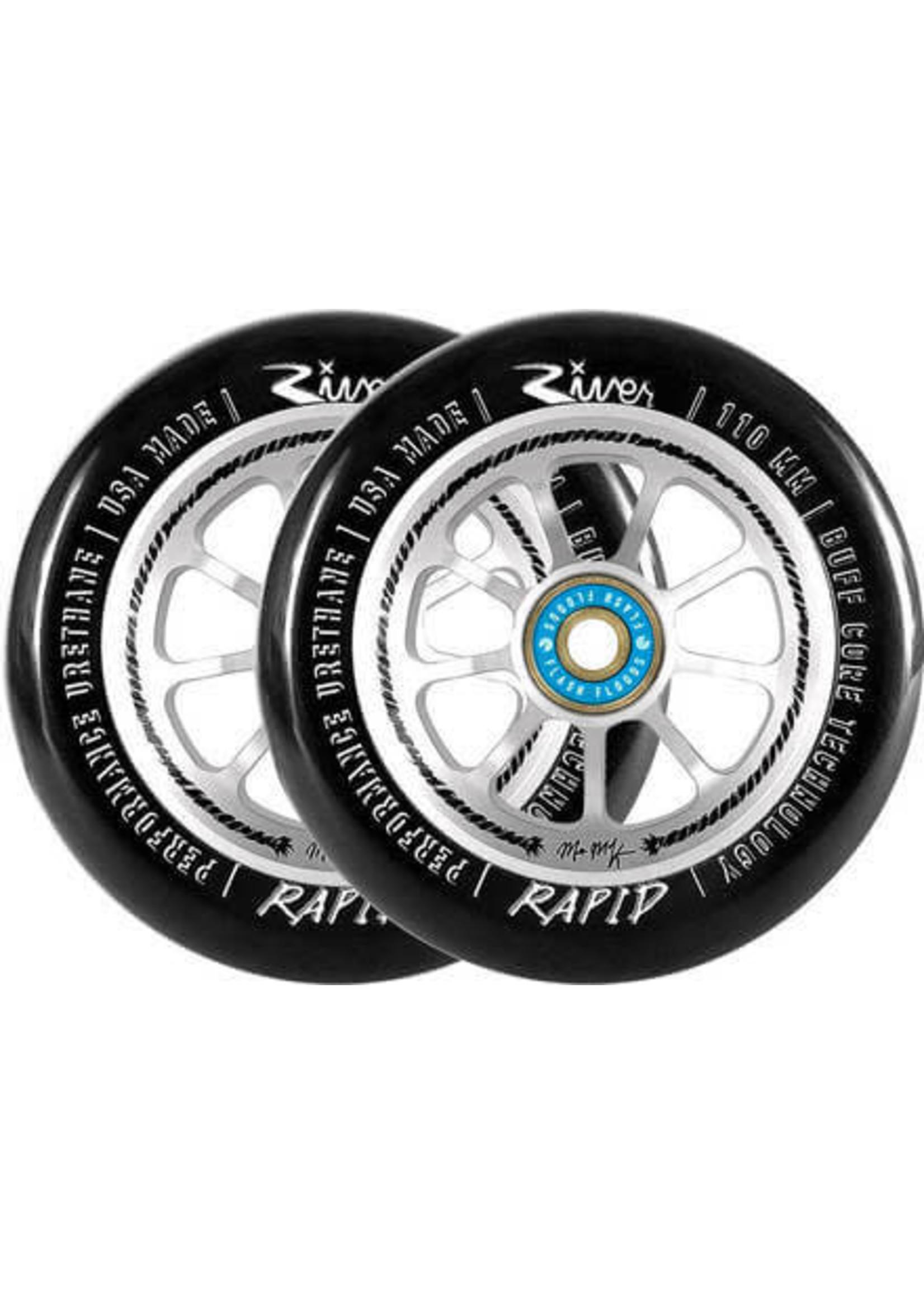 River Wheel Co. River - Rapids Matt Mckeen Sig. - 110mm