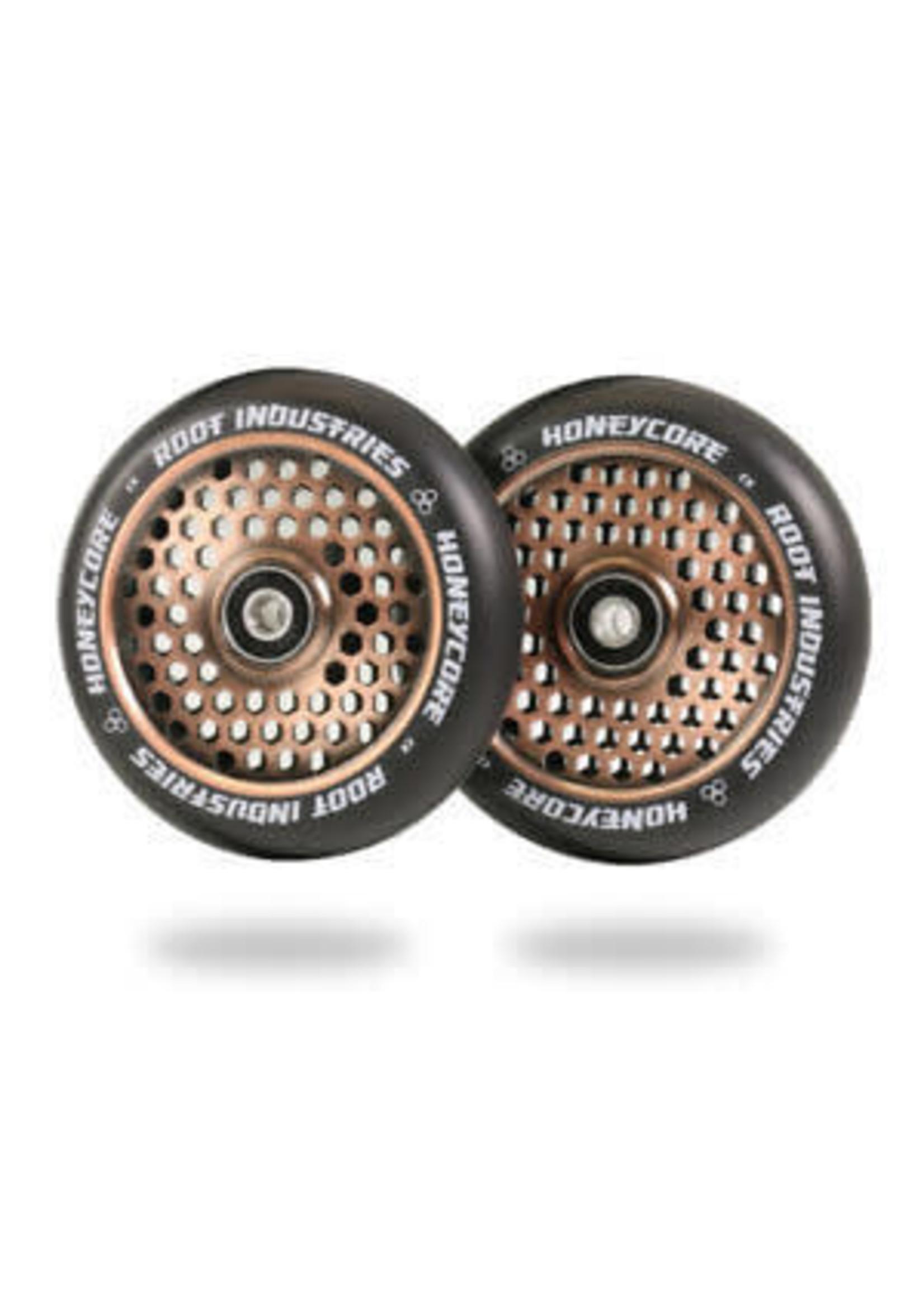 Root Industries Root - Honeycore Wheels Black PU - 110mm