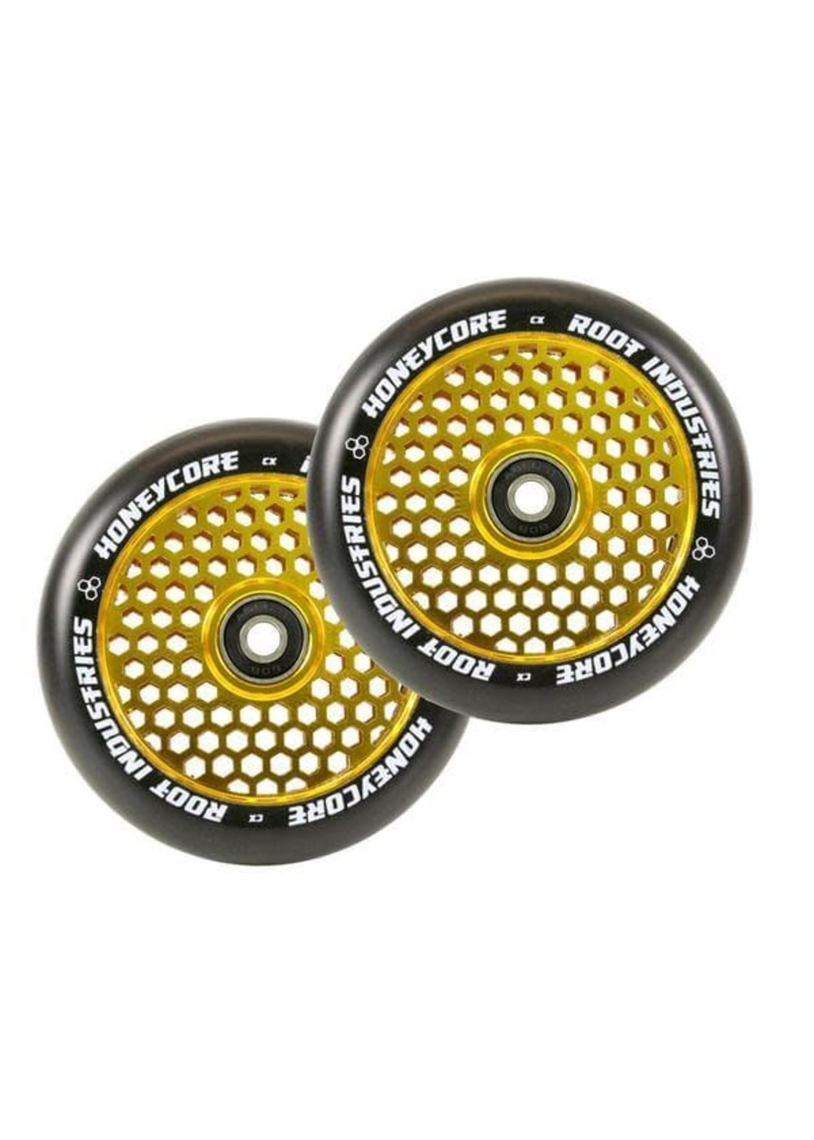 Root Industries Root - Honeycore Wheels Black PU - 120mm