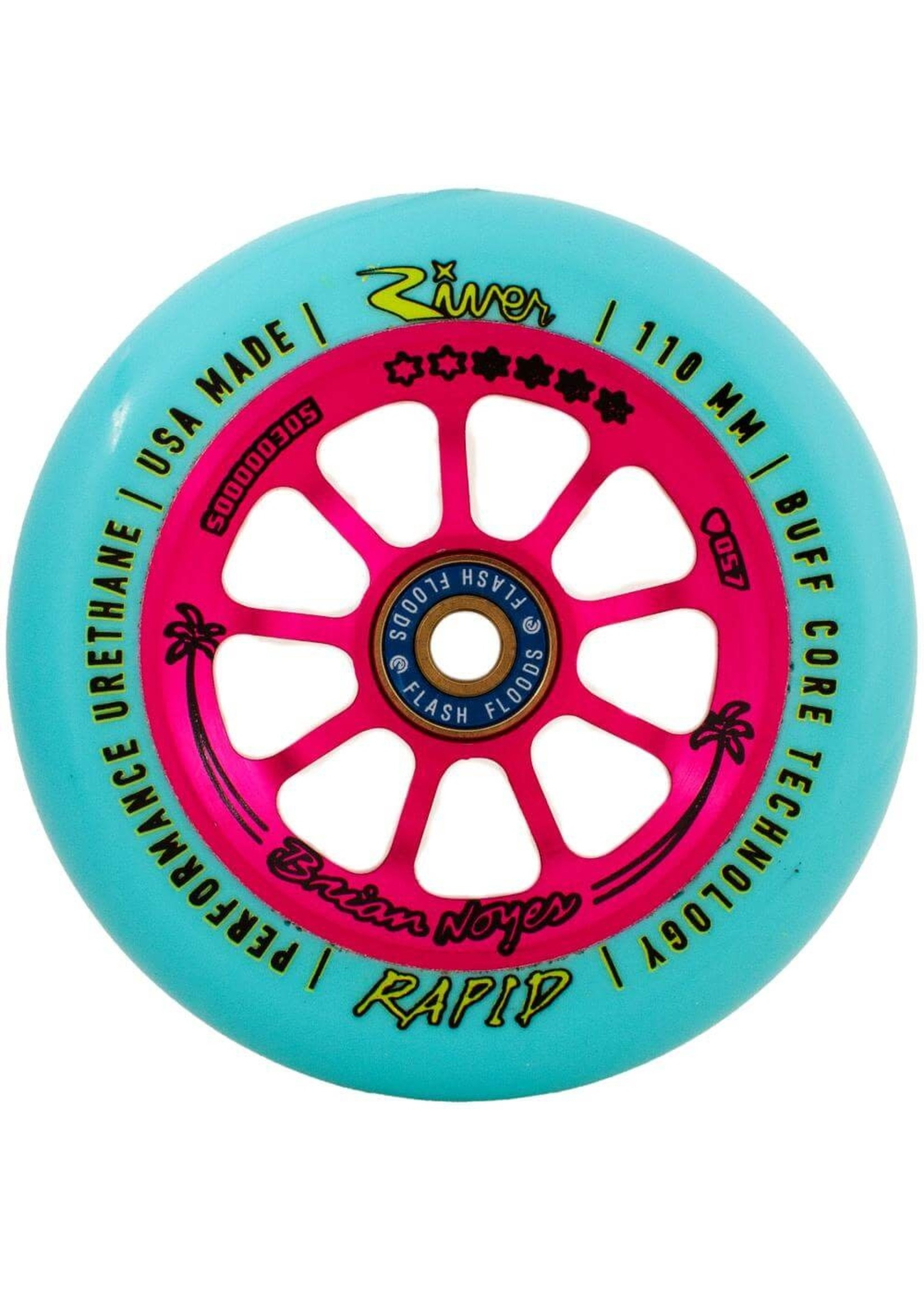 River Wheel Co. River - Rapids Brian Noyes Sig. - 110mm