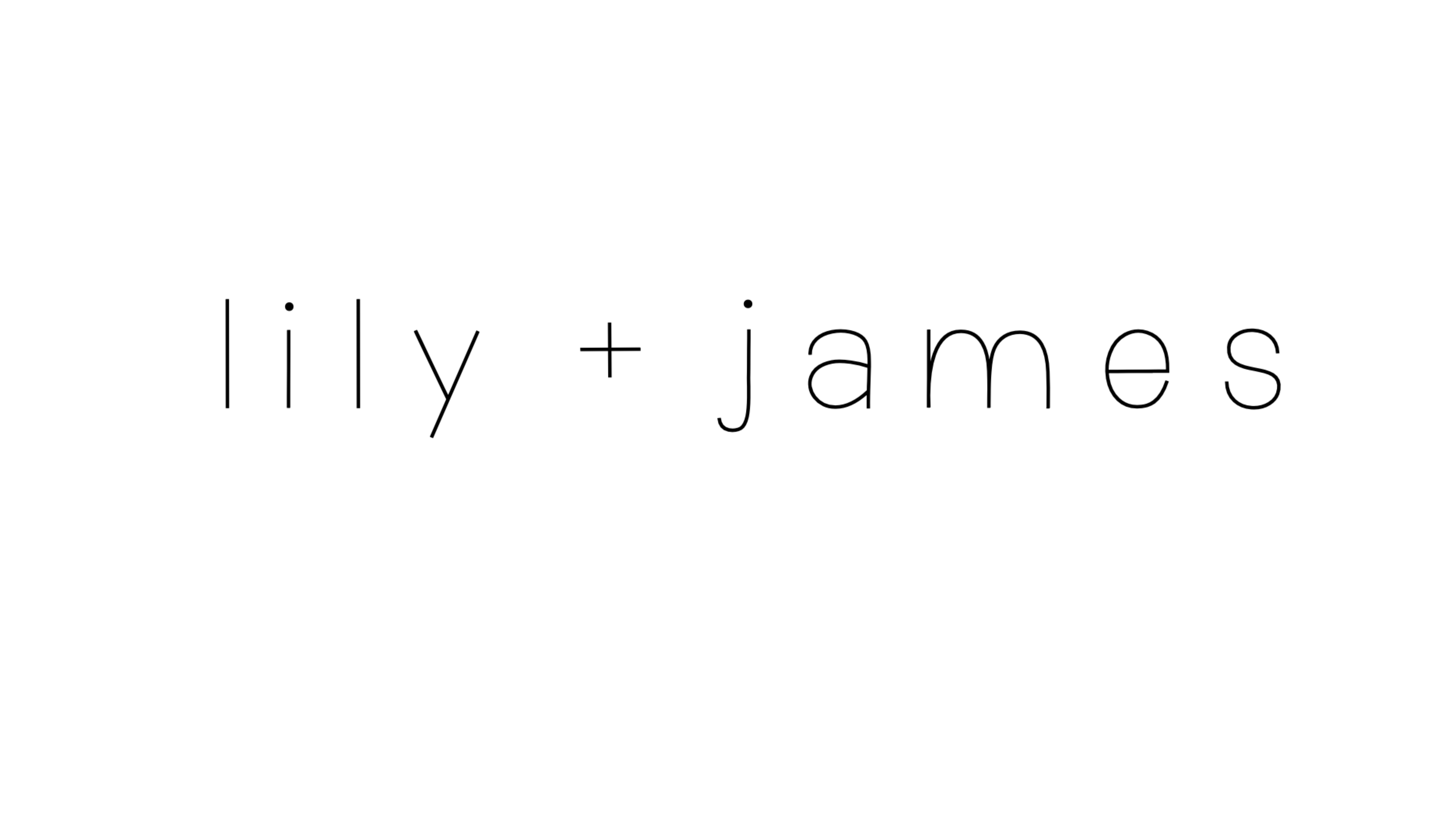 Lily +  James