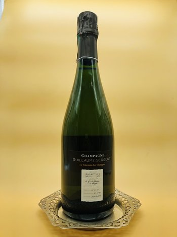 Guillaume Sergent 'Le Chemin des Chappes' Extra Brut Champagne 2017