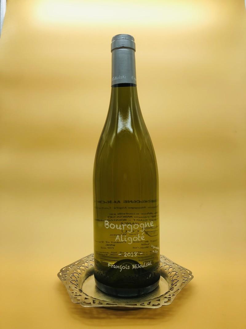 Francois Mikulski Aligote Bourgogne 2018