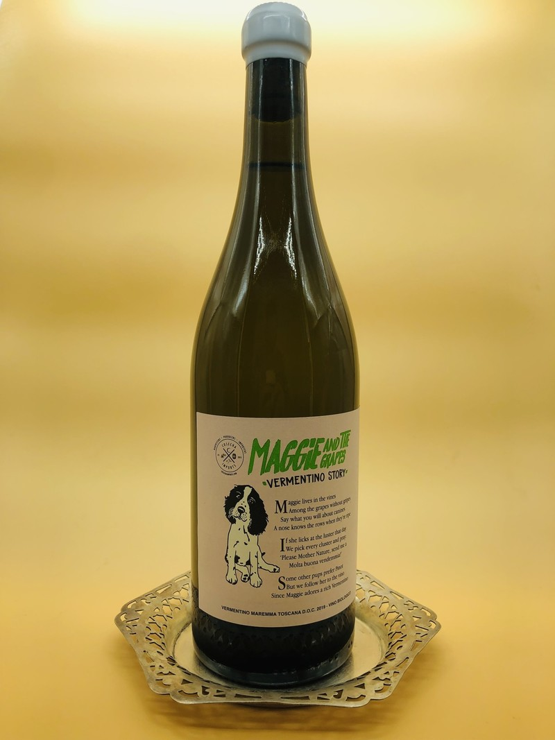 Cosecha Imports Vermentino 'Maggie and the Grapes' Toscana 2019