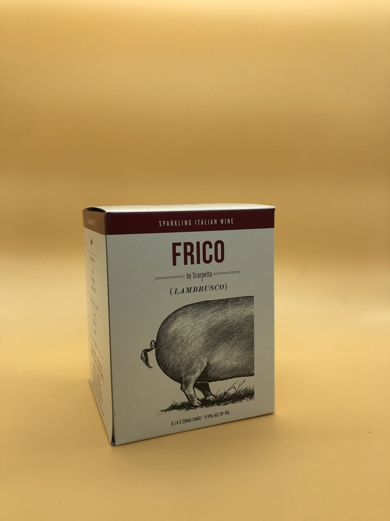 Scarpetta Lambrusco 'Frico' Cans 4 pack