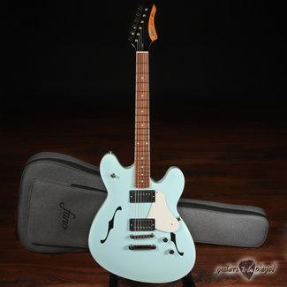 Fano Fano GF6 Omnis Series Semi-Hollow Electric Guitar w/ Gigbag – Sonic Blue