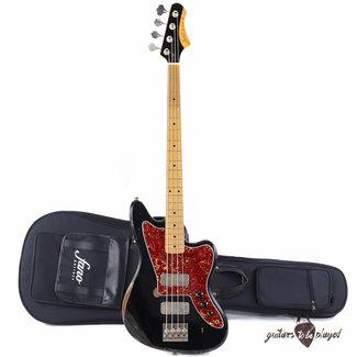 Fano Fano JM4 Standard Bass MP Fingerboard w/ Gigbag - Bull Black (Medium Distress)