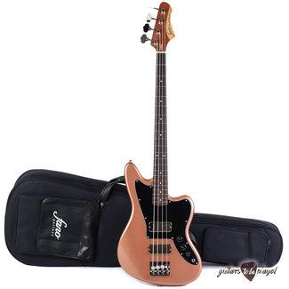 Fano Fano JM4 Standard Bass RW Fingerboard w/ Gigbag - Copper Metallic (NOS)