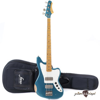 Fano Fano JM4 Standard LTD Bass MP Fretboard w/ Lollar Thunderbirds – Ocean Turquoise