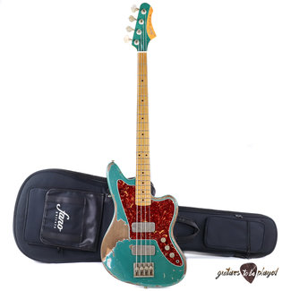 Fano Fano JM4 Standard LTD Bass MP Fretboard w/ Lollar Thunderbirds – Sherwood Green