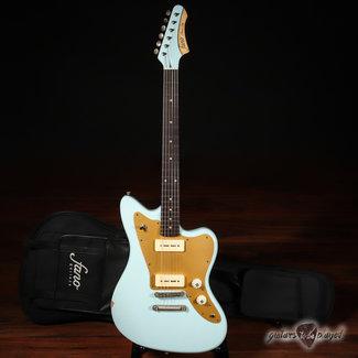 Fano Fano JM6 Oltre Lollar OmniTron P-90 Electric Guitar w/ Gigbag – Sonic Blue