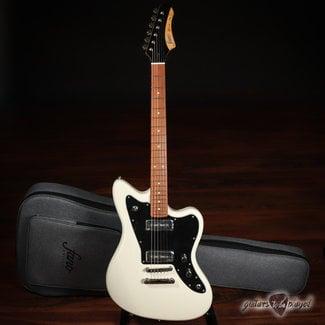 Fano Fano JM6 Omnis Series P-90 Electric Guitar w/ Gigbag – Olympic White