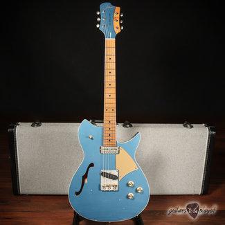 Fano Fano RB6T Thinline Alt de Facto w/ Lollar Gold Foil & Tele '52 – Pelham Blue