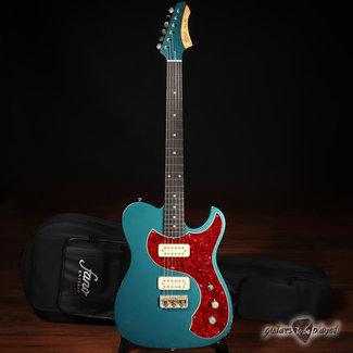 Fano Fano TC6 Oltre TV Jones Classic/Classic+ Guitar w/ Gigbag – Ocean Turquoise