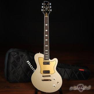 Kauer Kauer Starliner Express Electric Guitar w/ TV Jones PowerTrons – Shoreline Gold
