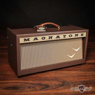Magnatone Magnatone Panoramic Stereo 12+12W Reverb/Vibrato Tube Head w/ Footswitch & Cover