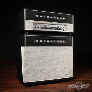 "Magnatone Magnatone Super Fifteen MKII Head & 1x12"" Cab Bundle w/ Covers & Speaker Cable"