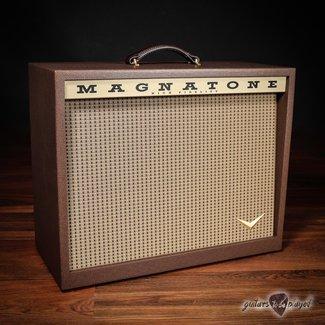 "Magnatone Magnatone T-112 Traditional Collection 1x12"" 8-ohm 75W Speaker Cabinet w/ Cover"