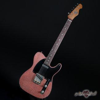 Mario Guitars Mario Martin Guitars Swamp Ash T-Style w/ Porter 9T Pickups –6lb– Champagne Flake