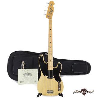 Mario Martin Mario Martin Guitars T-Bass Telecaster Bass, Mojotone '52 Clone P-Bass Pickup - 6lb 6oz