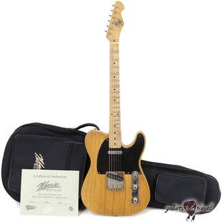 Mario Guitars Mario Martin T-Style Guitar w/ 1-pc Swamp Ash Body & Budz 543 Pickups – 5lb 14oz