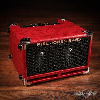 "Phil Jones Phil Jones Bass BG-110 Bass Cub II 2x5"" 110W ""Shoebox"" Combo Amp w/ Cover - Red"