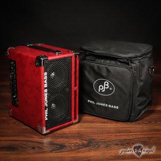 "Phil Jones Phil Jones Bass BG-110 Bass Cub II 2x5"" 110W Combo Amp w/ Carry Bag - Red"