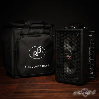 "Phil Jones Phil Jones Bass Double Four (BG-75) 2x4"" 70W Bass Combo Amp & Carry Bag – Black"