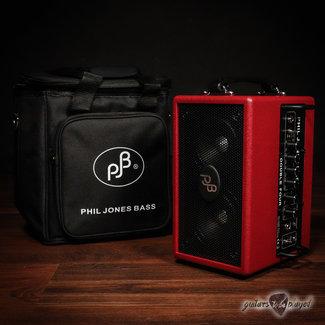 "Phil Jones Phil Jones Bass Double Four (BG-75) 2x4"" 70W Bass Combo Amp & Carry Bag – Red"