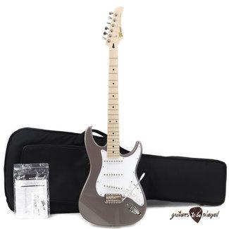 Greco Greco WS-STD Maple Fretboard MIJ Strat Electric Guitar w/ Gigbag – Metallic Gray