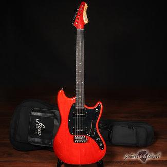 Fano Fano MG6 Oltre Lollar OmniTron P-90 Electric Guitar w/ Gigbag – Faded Cherry