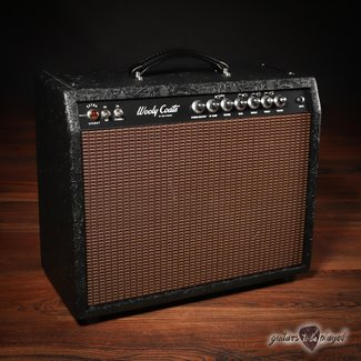 3rd Power 3rd Power Wooly Coats Extra Spanky 6VEL Deluxe 1x12 Combo Amp – Black Western