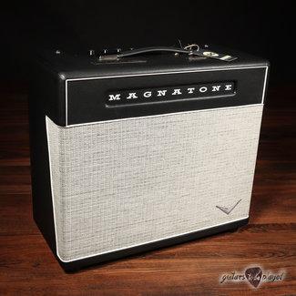 "Magnatone Magnatone Super Fifteen MKII 15-Watt Tube 1x12"" Combo Amp w/ Cover"
