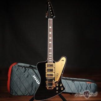 "Kauer Kauer Banshee Limited Edition ""Excalibur"" w/ TV Jones & Bigsby – Black & Gold"