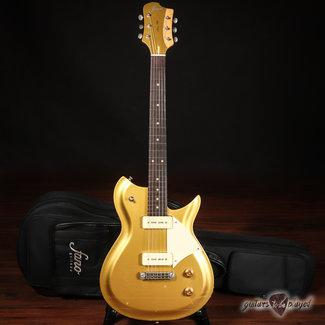 Fano Fano RB6 Oltre Lollar P-90 Electric Guitar w/ Gigbag – Gold Top