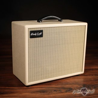 3rd Power 3rd Power Wooly Coats Compact 112 Speaker Cab w/ Eminence GA-SC64 –Smooth Blonde