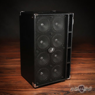 "Phil Jones Phil Jones Bass C8 Compact 8x5"" 800W 8-ohm Speaker Cabinet w/ Cover - Black"