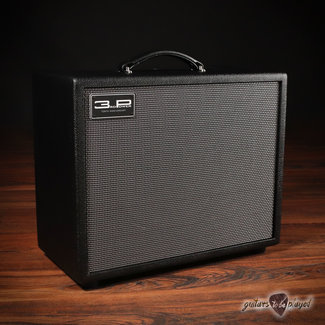 """3rd Power 3rd Power 2021 Dirty Sink 25W Hand-Wired 1x12"""" Combo Amp w/ Footswitch - Black"""
