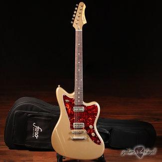 Fano Fano JM6 Oltre TV Jones Classic Electric Guitar w/ Gigbag – Shoreline Gold